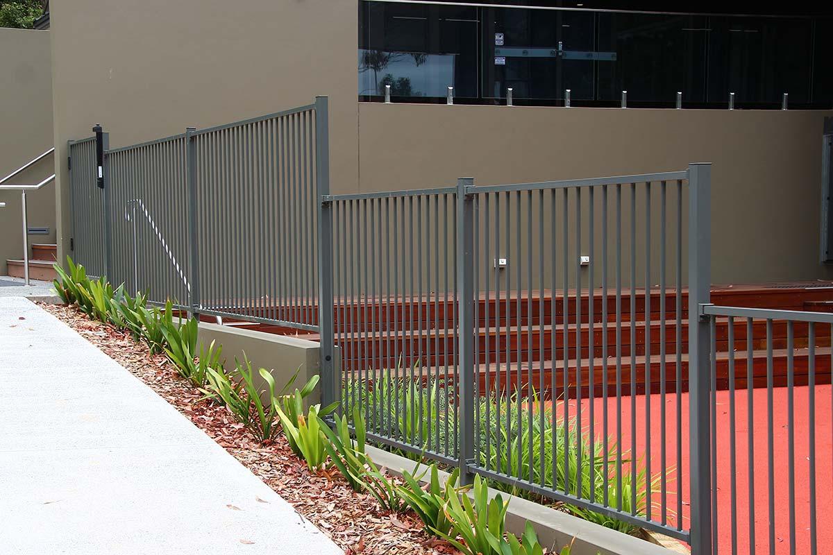 Aluminium pool fencing central coast install